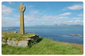 Eilean Mor Cross isola Islay