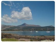Isola di Arran in Scozia